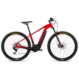 "ORBEA Keram Max E-mountainbike 27,5"" rød/sølv"